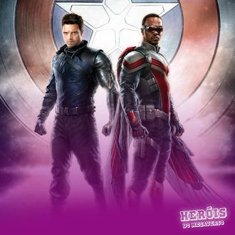 Heróis do Megaverso #003   Falcão e o Soldado Invernal