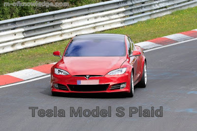مواصفات و سعر سيارة تيسلا إصدار Tesla Model S Plaid