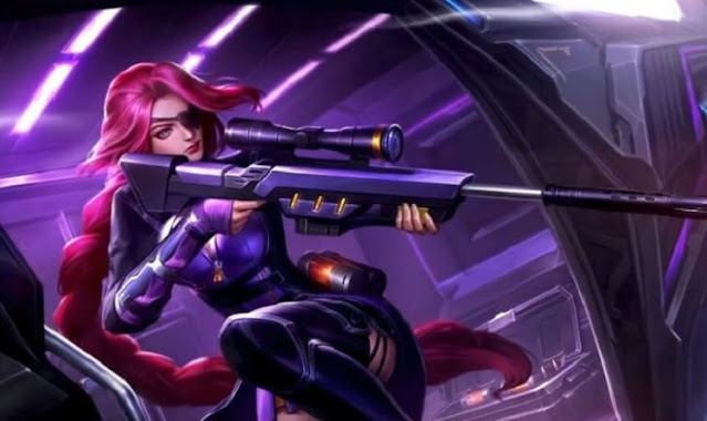 Skin Lesley Di Mobile Legends (ML) Terbaik, Lethal Lady