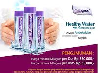 Harga Air Milagros Per Botol