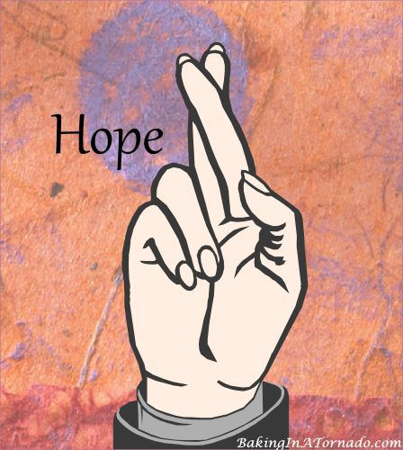 Hope Again | Graphic designed by and property of www.BakingInATornado.com | #MyGraphics #life