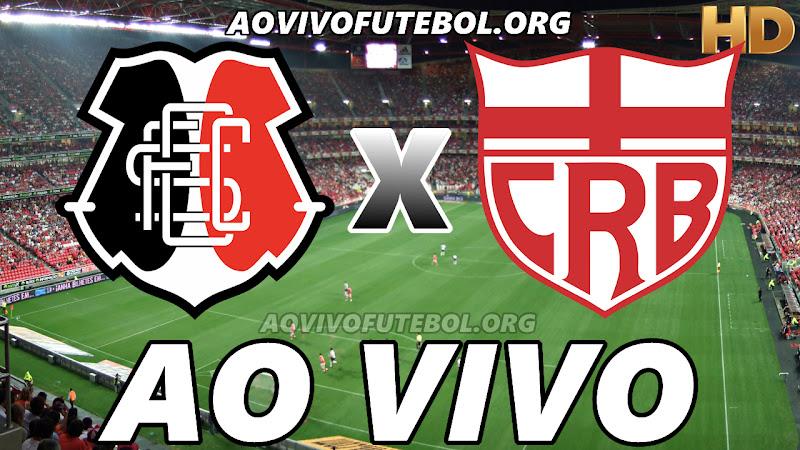 Assistir Santa Cruz vs CRB Ao Vivo HD