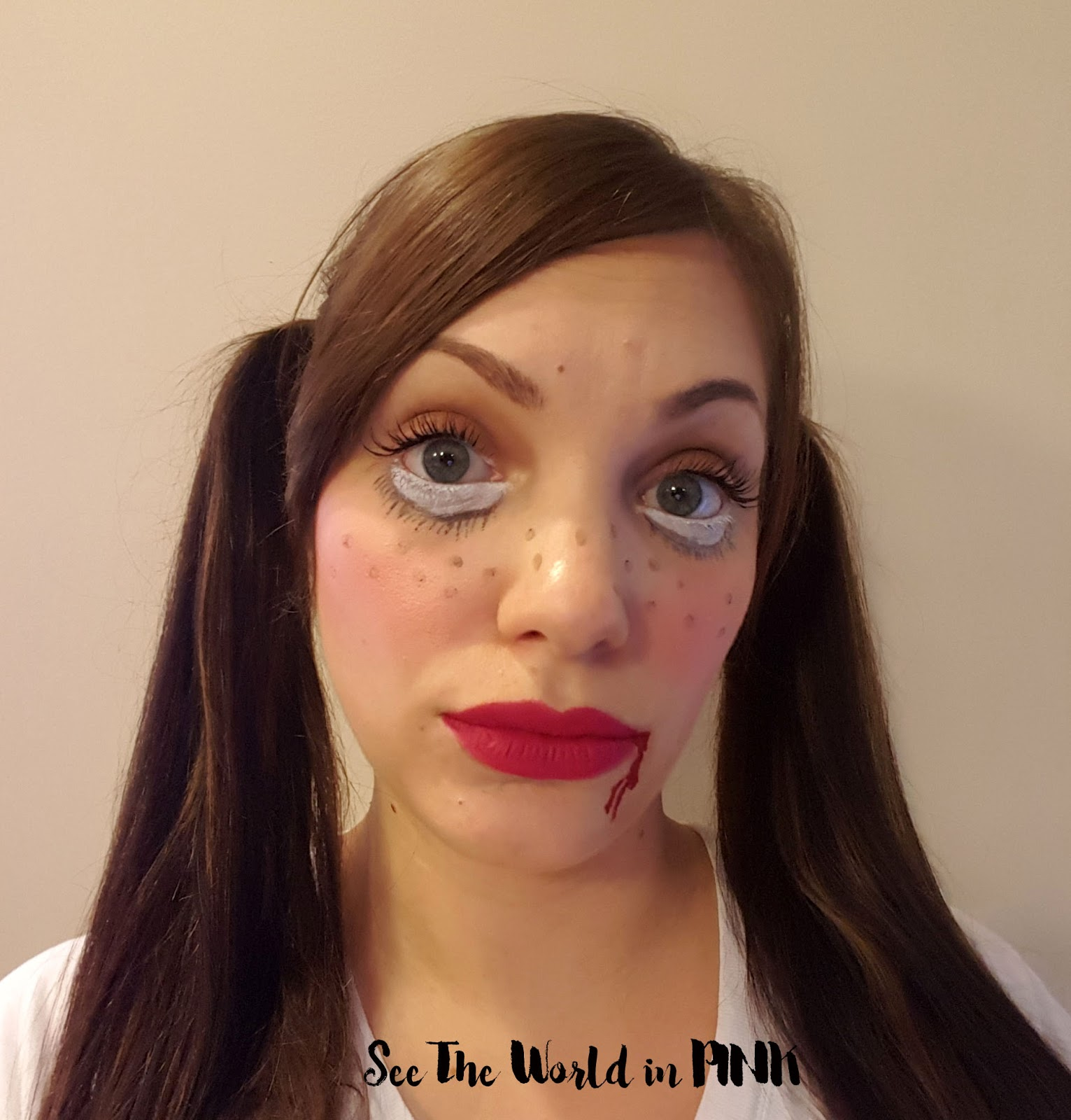 Halloween Look - Doll Makeup!