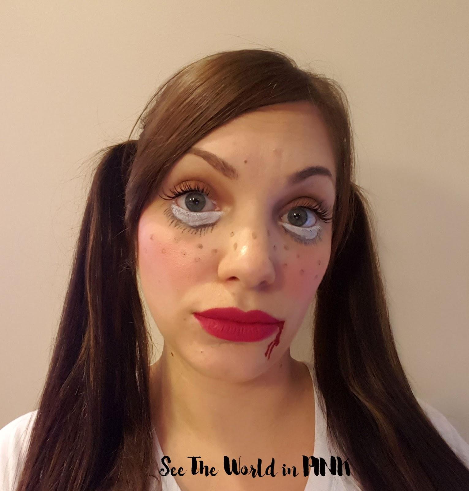 Halloween Look - Doll Makeup!