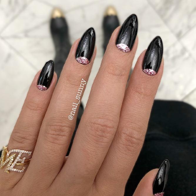 Classic Black Nails
