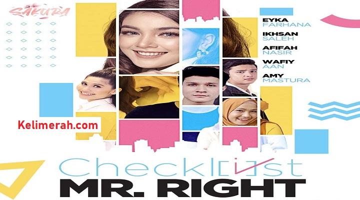 Drama Checklist Mr Right Lakonan Eyka Farhana, Afifah Nasir1