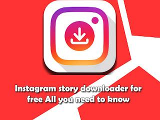 Instagram story downloader