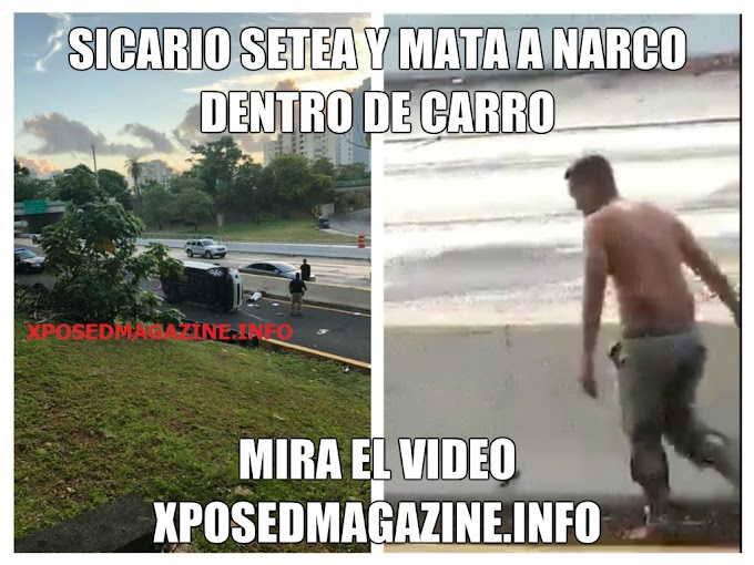 VIDEO SICARIO SETEA Y MATA A NARCO DENTRO DE CARRO