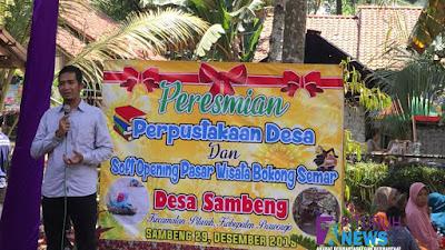 "Ide Kreatif Pemuda Sambeng Wujudkan Perpustakaan Desa dan Pasar Wisata ""Bokong Semar"""