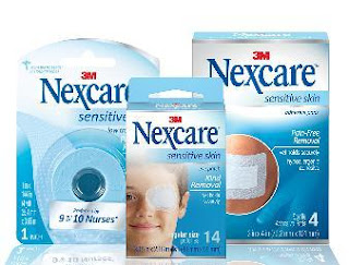 nexcare sensitive skin line of products