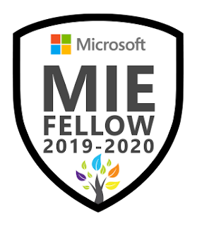 Microsoft Innovative Educator (MIE) Fellow, 2019-2020