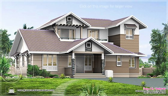 Home plan elevation