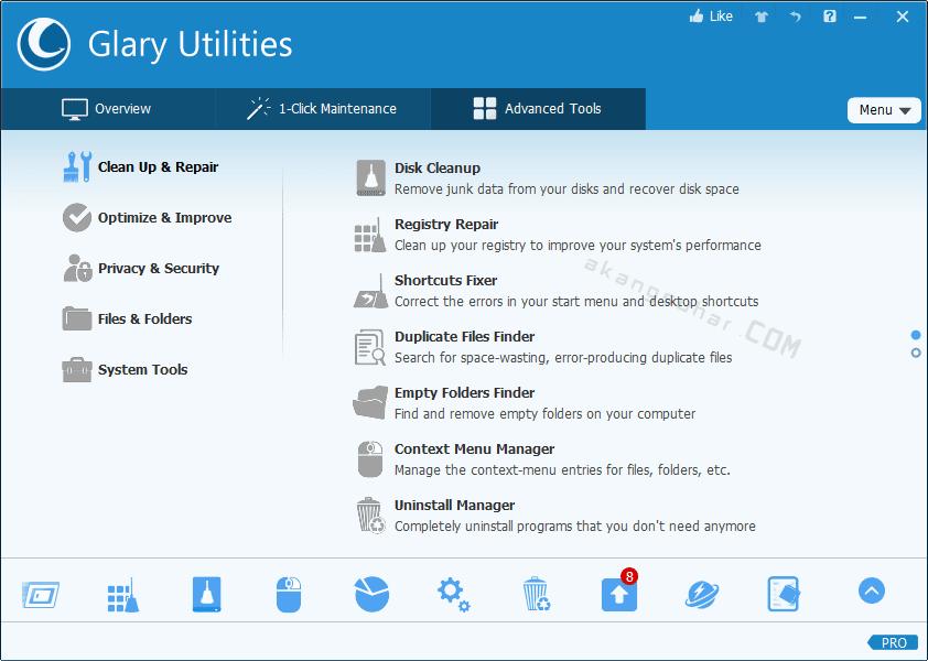 Gratis Download Glary Utilities Pro Full Crack Terbaru