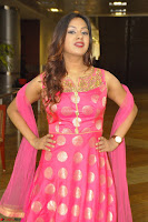 Sindhu Shivarama in Pink Ethnic Anarkali Dress 29.JPG