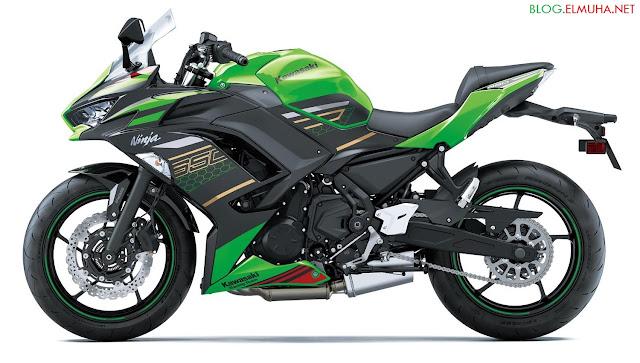Kawasaki Ninja 650 2020 green KRT