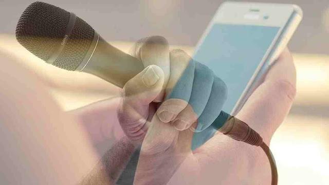 membuat android menjadi mikrophone di laptop