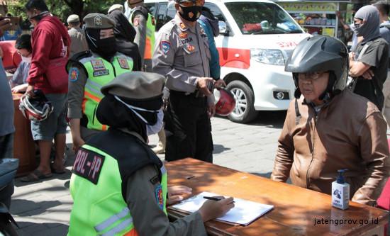 Libur Nataru, 11 Titik Lokasi Operasi Yustisi dan Tes Antigen di Jateng