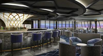 Redesigned Spinnaker Lounge Onboard Norwegian Cruise Line's  Norwegian Spiri