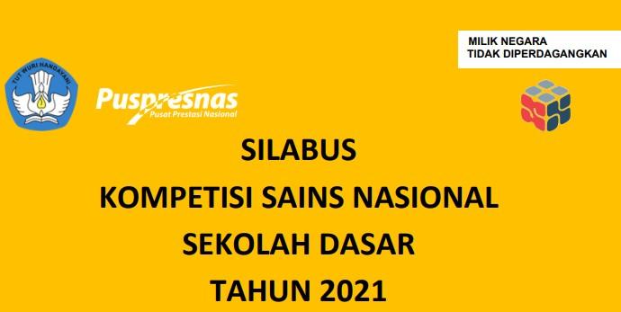 SILABUS KSN SD 2021
