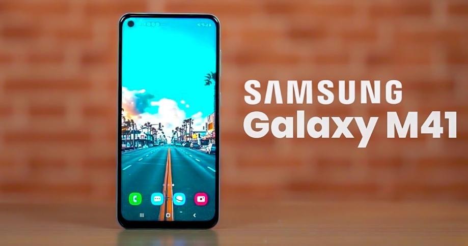 Samsung Galaxy M41 Hadir dengan Kapasitas Baterai Besar