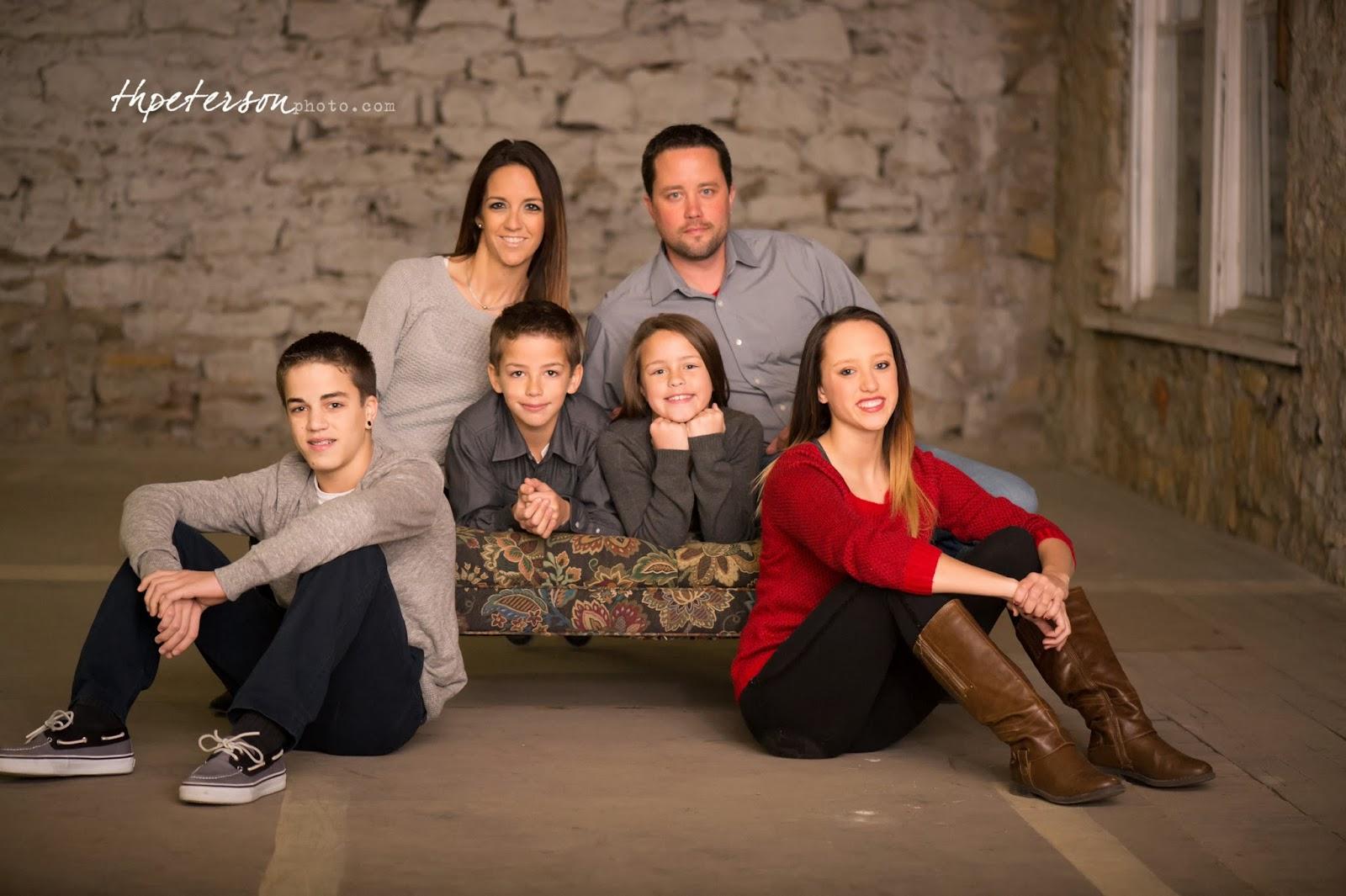 Professional Christmas Family Photos