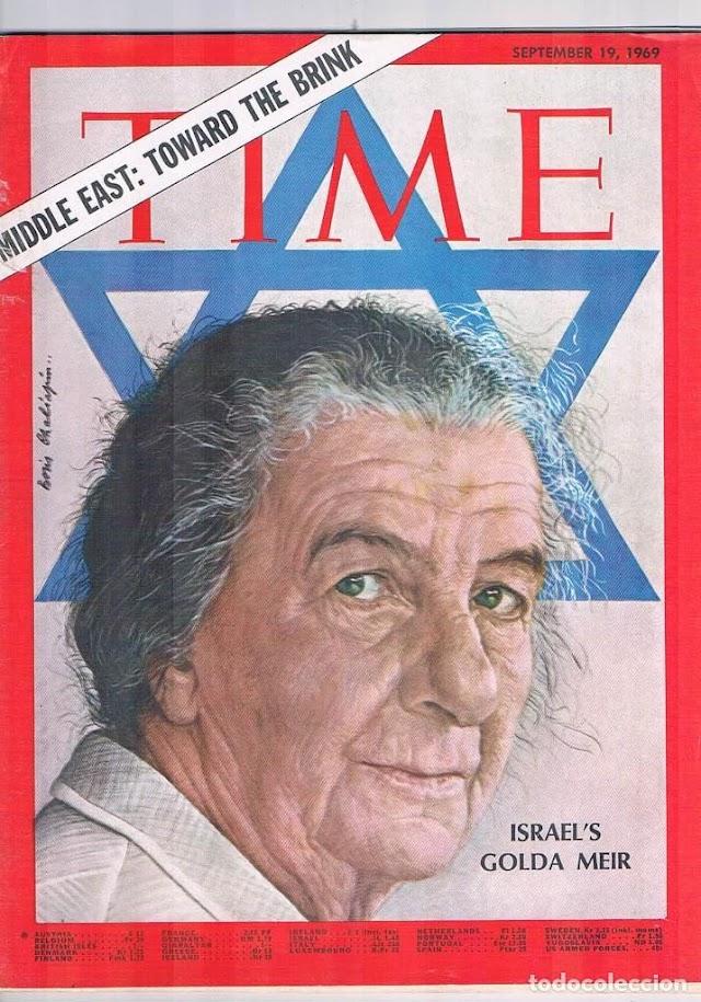 May 3 - Happy Birthday, Golda Meir