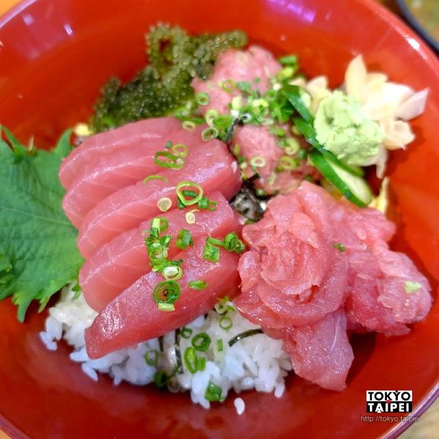 【鮪魚屋本舖】超鮮甜鮪魚三色丼 不同部位魚肉組合出豐富口感