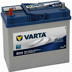 Varta B33 Blue Dynamic Car Battery for Jimny