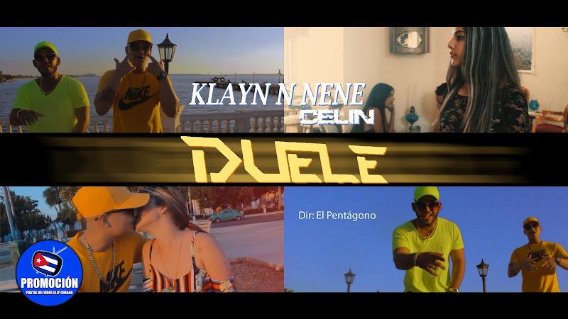 Klayn x Nene & Celin - ¨Duele¨ - Videoclip - Director: El Pentágono. Portal Del Vídeo Clip Cubano. Música cubana. Reguetón. Cuba.