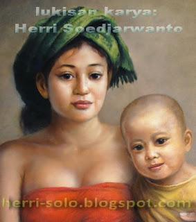 Galeri Lukisan Ibu dan Anak