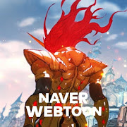 Playstore icon of Warrior with NAVER WEBTOON