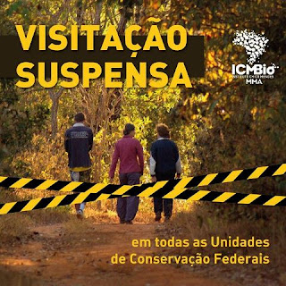 Brasil suspende visitação