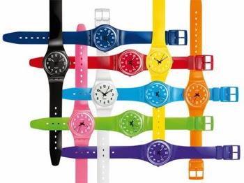 4cc224ea8f1 A marca SWATCH introduzia também um novo conceito de relógio  casual