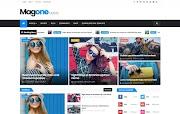 (Free)(Premium) MagOne Blogger Template Themes