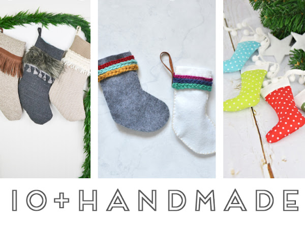 How to Make 10+ Handmade Christmas Stockings