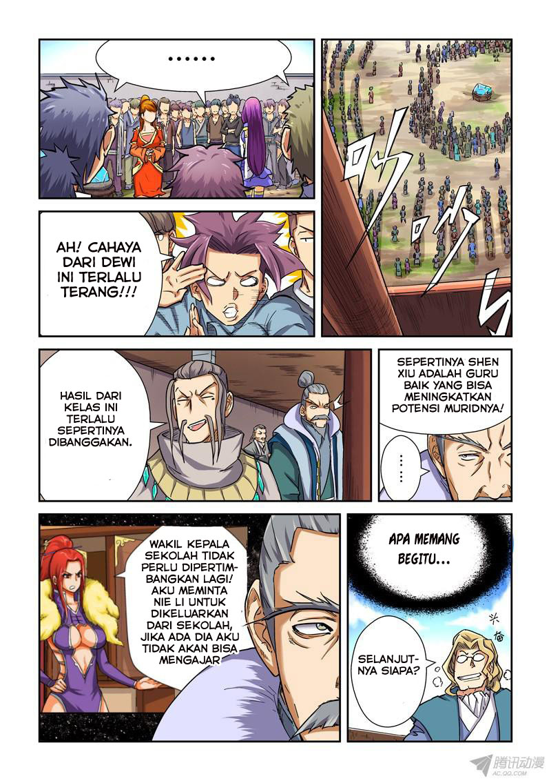 Baca Komik Tales of Demons and Gods Chapter 83.5 Komik Station