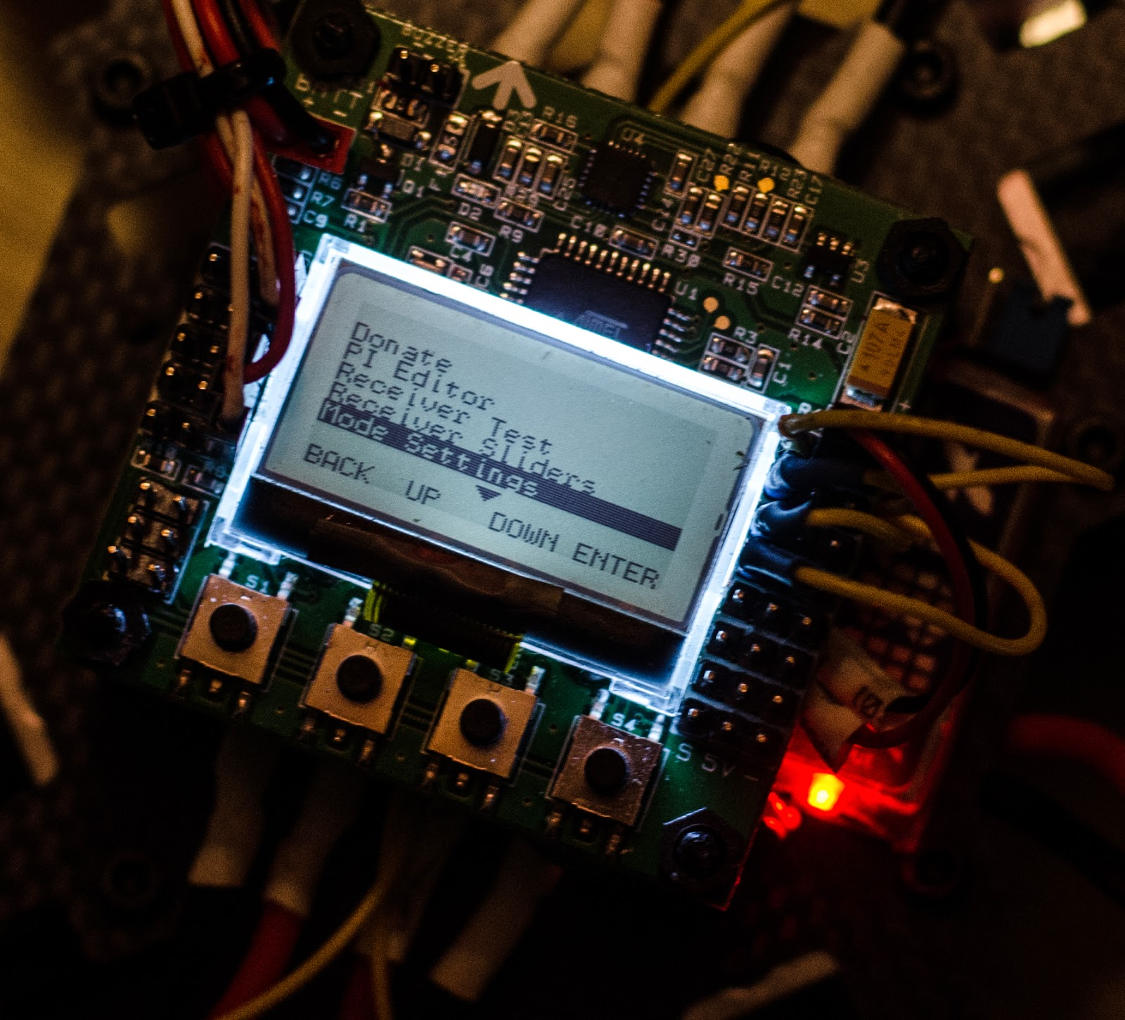 small resolution of another options available on the kk2 board is the selv level under mode