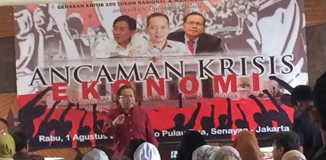 Rizal Ramli: Indonesia Tak Akan Maju Dengan Politik Tribalisme