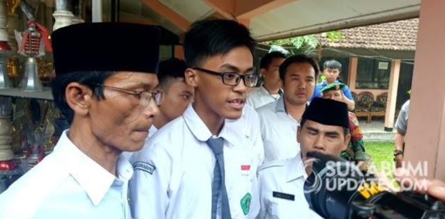 Siswa MAN 1 Sukabumi Menyesal Kibarkan Bendera Khilafah