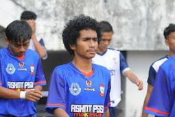 Gerald Asal Andi Tonro Harapkan Sepakbola Makassar Ciptakan Atlet Berprestasi