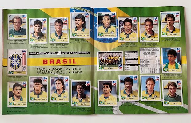 figurina brasile usa 94