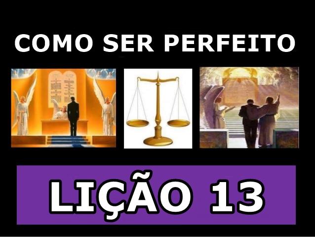 como ser perfeito 13