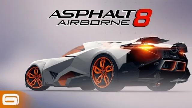 تحميل لعبة asphalt 8 مهكرة اخر اصدار 2021
