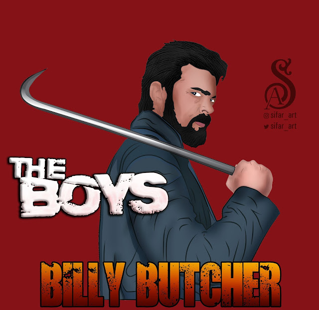 The Boys, Billy Butcher, #TheBoys