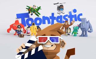aplikasi pembuat video animasi Toontastic 3D