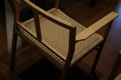 愛知県瀬戸市の家具工房 MOST furniture 座編みの椅子