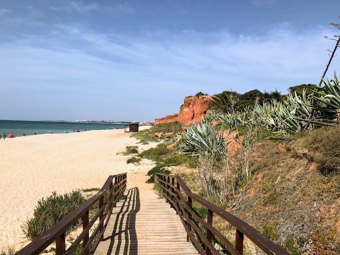 Rocha Baixinha, la playa de los tomates