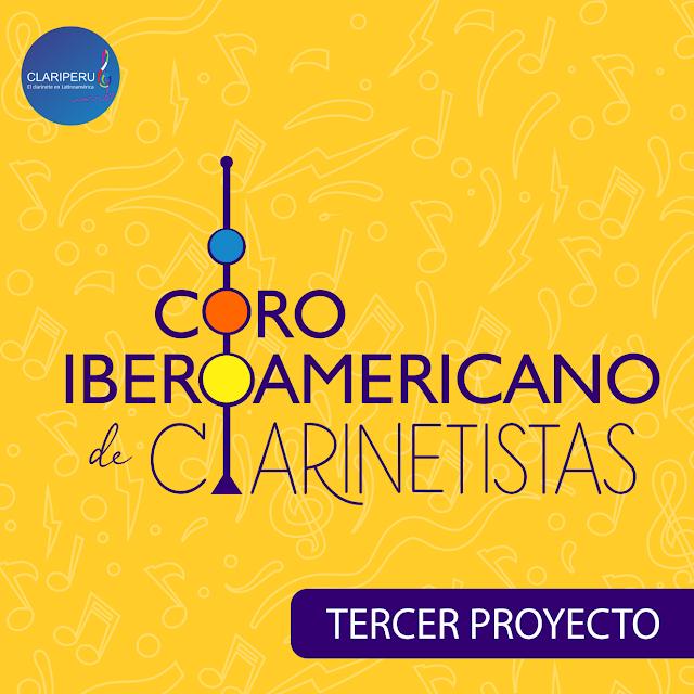 Tercer proyecto del Coro Iberoamericano de Clarinetistas. Comunidad Clariperu