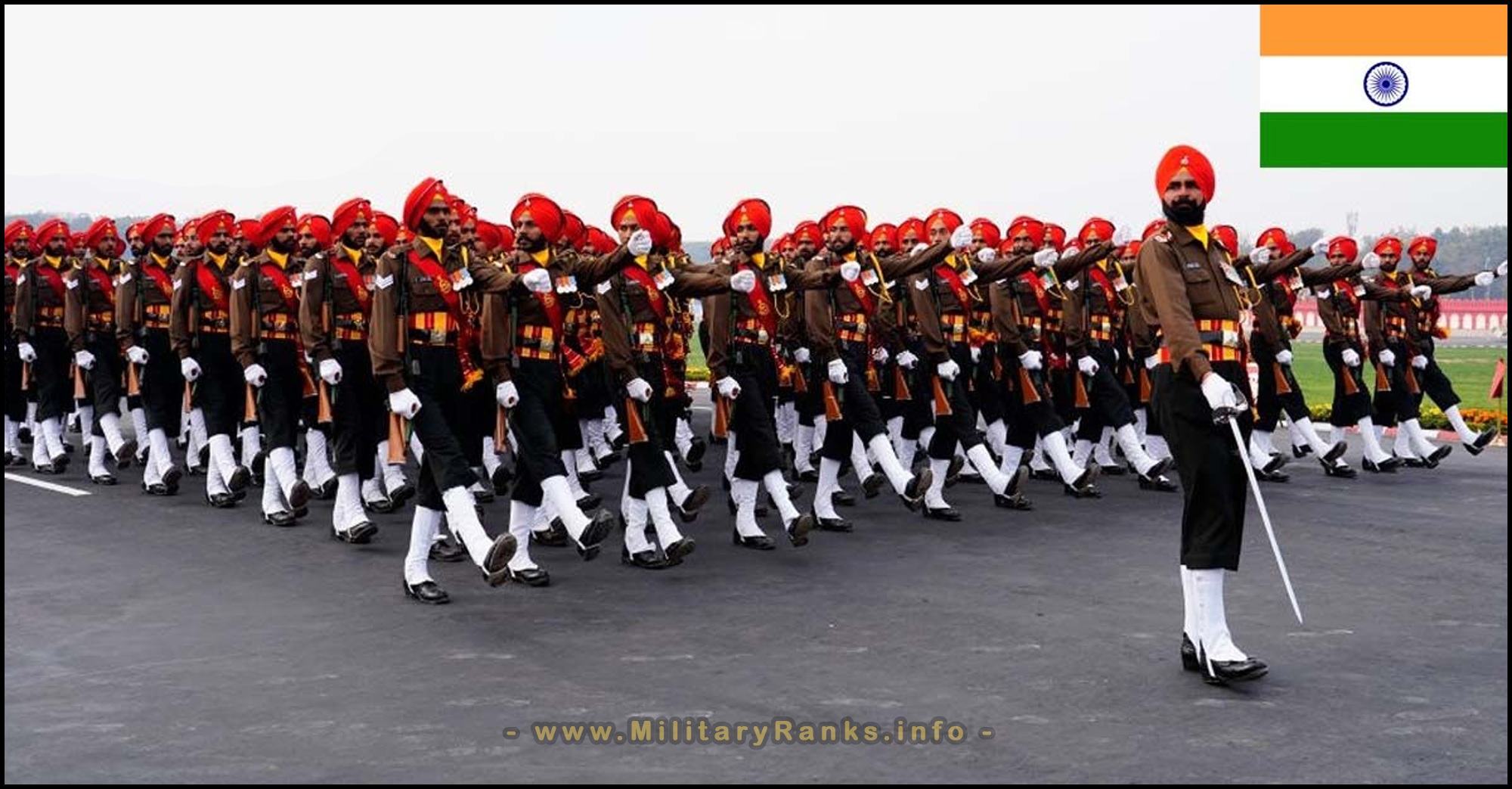 Indian Army Ranks and Insignia | Indian Armed Forces Ranks Insignia Badges