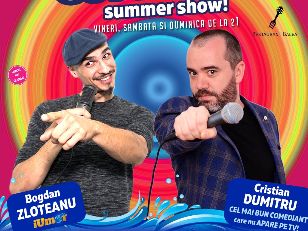 Bogdan Zloteanu si Cristian Dumitru show de stand-up comedy pe litoral